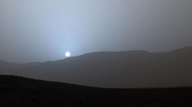 De ce arata altfel apusul de soare pe Marte fata de Pamant. VIDEO