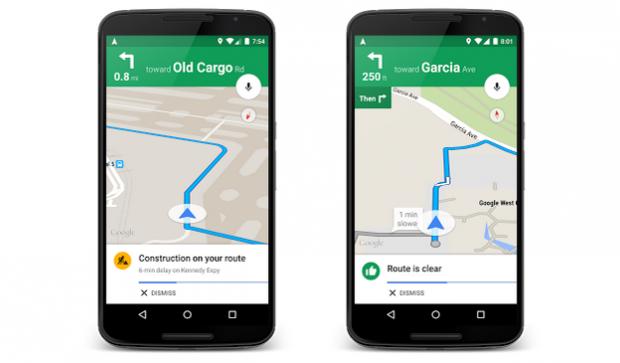 Google Maps va afisa acum si alerte din trafic