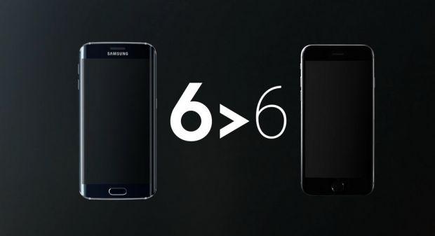 Samsung face misto de Apple in ultimele reclame la Galaxy S6 edge! Ce nu poate sa faca iPhone 6
