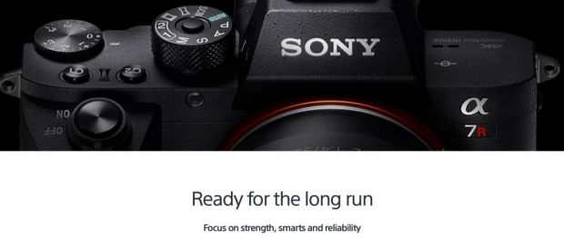Sony lanseaza camera foto alpha;7R II dotata cu primul senzor full-frame de 35 mm cu iluminare din spate
