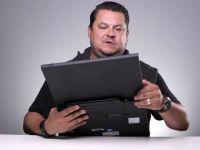 Bobonete iti demonstreaza ca orice laptop se poate plia. Oarecum. VIDEO