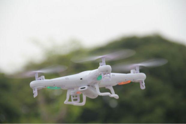 Prima drona salvata de... alta drona! VIDEO