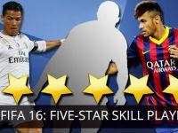 Acestia sunt jucatorii de 5 stele din FIFA 16! Messi nu este pe lista pe care se afla un roman si un fost jucator de la Steaua
