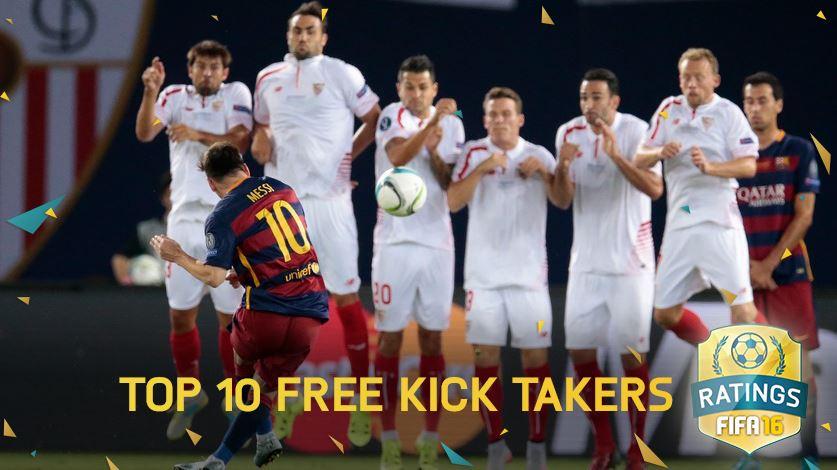 Ronaldo nu e in top, Messi e abia pe 5! Cine e pe primul loc in clasamentul executantilor de lovituri libere din FIFA 16