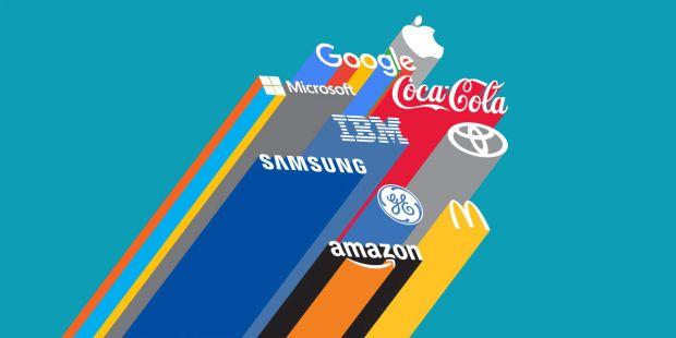 Apple ramane cel mai valoros brand din lume. Facebook a avut cel mai mare salt