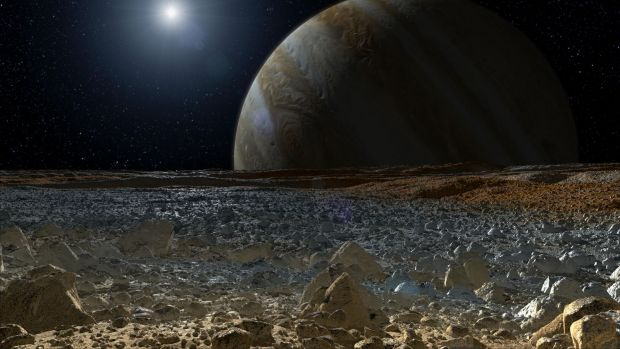 NASA prezinta planeta Jupiter in rezolutie 4K