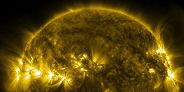 NASA a publicat un clip nemaivazut cu soarele la rezolutie 4K