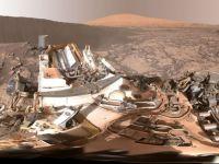 NASA a publicat un clip de 360 de grade care prezinta suprafata planetei Marte
