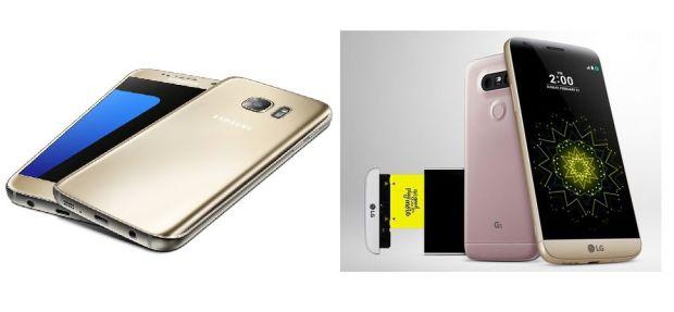 LG G5 vs Samsung Galaxy S7 vs iPhone 6s. Care e cel mai bun telefon lansat acum la Barcelona