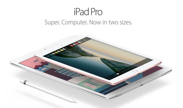iPad Pro, cu ecran de 9,7 inch, vine cu Apple Pencil si Smart Keyboard. VIDEO