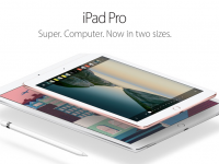 iPad Pro, cu ecran de 9,7 inch, vine cu Apple Pencil si Smart Keyboard. VIDEO
