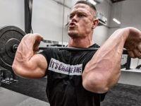 Superstarul din wrestling, John Cena, si-a impresionat fanii de pe net