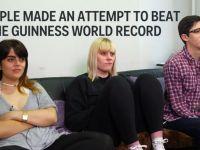 Trei oameni au incercat sa bata un record mondial incredibil! Cate zile s-au uitat la televizor fara pauza