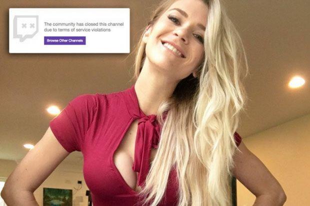 O vloggerita a fost exclusa de pe Twitch dupa un gest indecent in timpul unei transmisiuni live