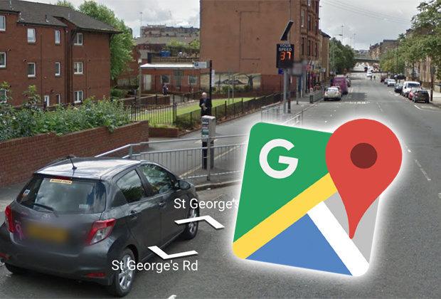 S-au filmat in timp ce incalcau legea! Detaliul din aceasta imagine surprins pe Google Maps