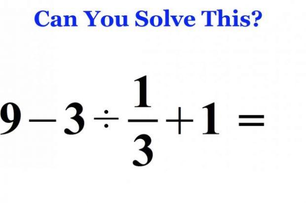 Problema simpla de matematica pe care 90% din oameni o rezolvau in urma cu 30 de ani. Acum, 1 din 2 persoane o greseste!