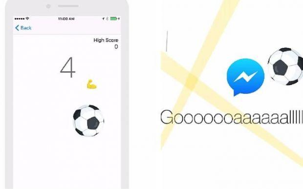 Facebook a lansat un joc secret de fotbal pe timpul Euro! Cum il poti accesa