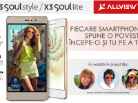 Allview a lansat X3 Soul Style si X3 Soul Lite. Cat costa cele 2 telefoane