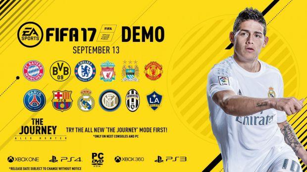 12 echipe disponibile in demo-ul de la FIFA 17