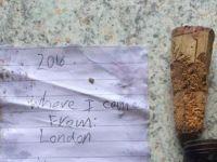 Un copil de 6 ani a lasat in mesaj intr-o sticla si a impresionat o lume intreaga! Ce scria pe bilet