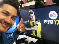 Campionul roman, Ovvy, ne-a spus primele impresii despre FIFA 17:  Este genial, grafica este incredibila