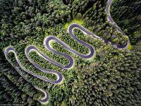 Fotografie realizata de un roman, favorita la un concurs international! Ce drum apare in imagine?