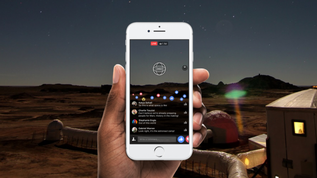 O noua optiune pentru utilizatorii Facebook! Cand va fi disponibil formatul Live 360
