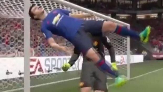 Cele mai amuzante bug-uri de portari din FIFA 17. Cum s-a ajuns la situatia din imagine