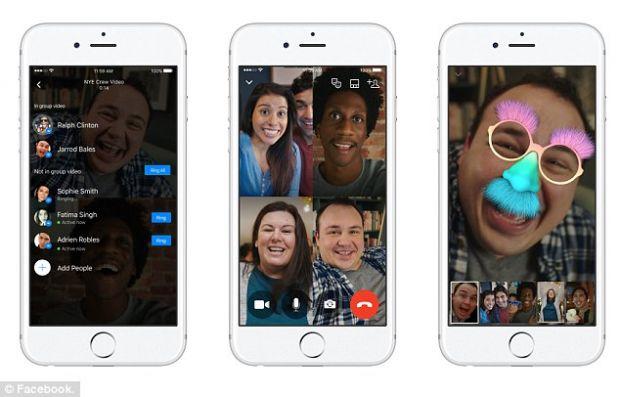 Apeluri video de grup prin Facebook Messenger! Ce trebuie sa stii despre noua optiune