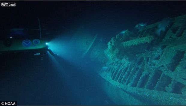 Epava unui submarin nazist, descoperita dupa 74 de ani. Ce au gasit in interior
