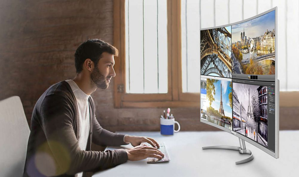 Philips lanseaza cel mai mare monitor 4K curbat, de pe piata