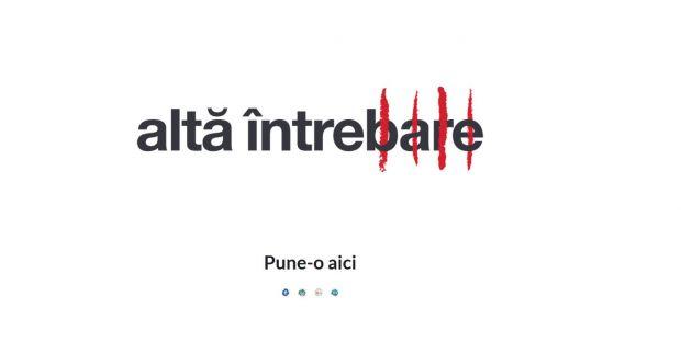 A fost creat site-ul AltaIntrebare.ro. Ce gasesti pe acesta