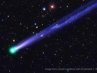 O cometa neobisnuita se indreapta spre noi! Va putea fi admirata peste cateva zile