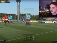 Un hacker a modificat jocul FIFA 17 si i-a transformat pe jucatori in giganti!