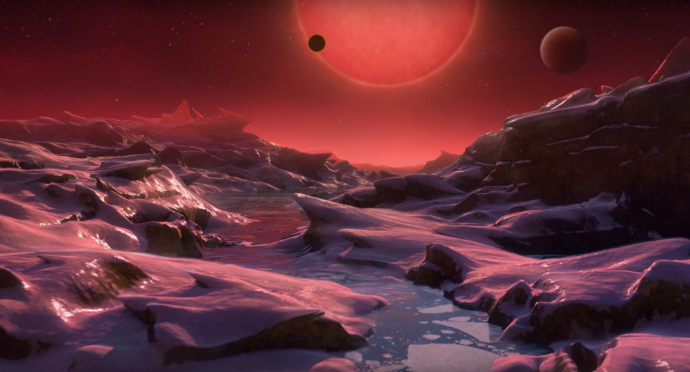 NASA a descoperit sapte exoplanete asemanatoare cu Terra! Pe trei dintre ele ar putea exista viata