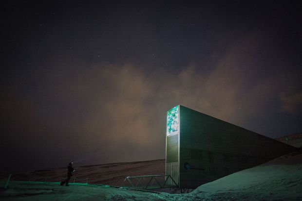 Ce contine  Arhiva Apocalipsei , cladirea de langa Polul Nord menita sa reziste oricarei catastrofe