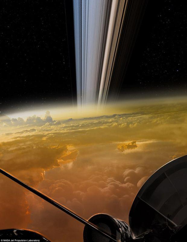 Sunete ciudate inregistrate in apropiere de Saturn! Expertii NASA nu se asteptau sa auda asa ceva