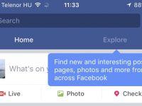 Sectiunea Explore de la Facebook este disponibila de acum si pentru PC