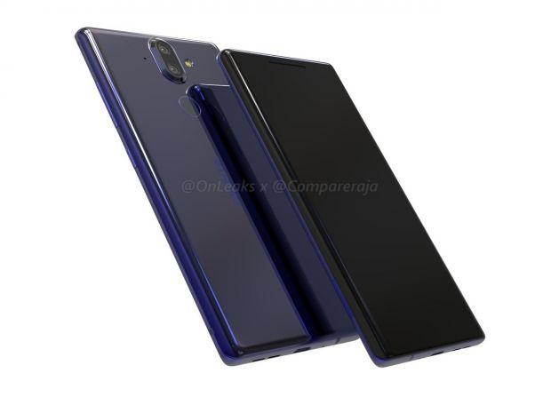 Primele imagini cu Nokia 9! Urmatorul flagship va avea ecran fara margini si patru camere foto