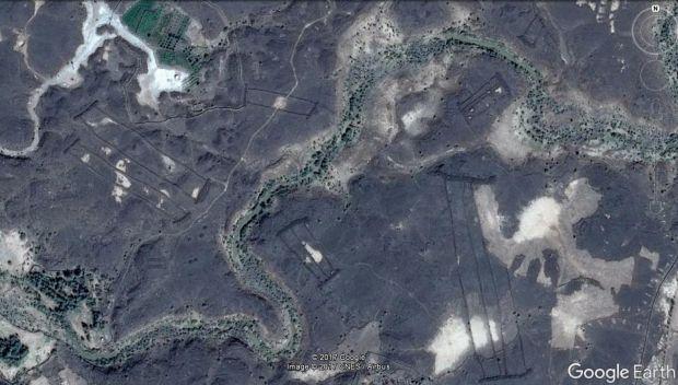 Cele mai ciudate locuri descoperite in 2017 cu ajutorul aplicatiei Google Earth
