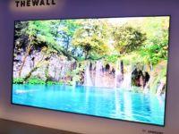 Peretele , televizorul urias prezentat de Samsung, cu noua tehnologie MicroLED