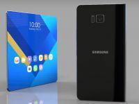 Samsung a anuntat cand va lansa primul smartphone pliabil! Productia va incepe in curand