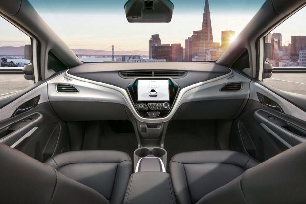 General Motors prezinta prima masina complet autonoma, fara volan si pedale