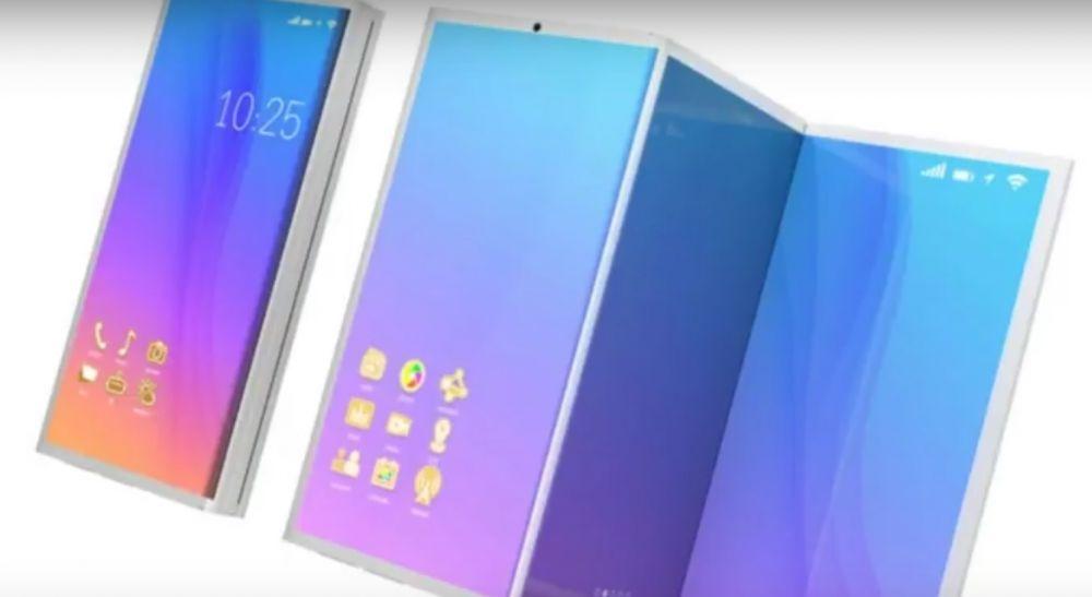 ZTE intra in competitie cu Samsung! Pregateste un smartphone cu ecran pliabil