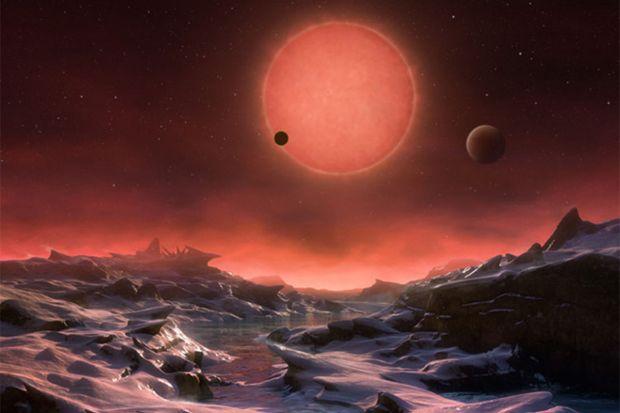 Concluzia astronomilor: Ar putea exista viata pe planetele din sistemul solar Trappist-1