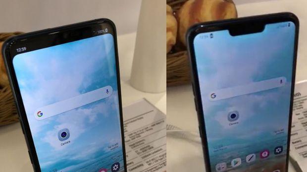 LG G7, primul smartphone cu decupajul din ecran optional. Cum isi schimba aspectul
