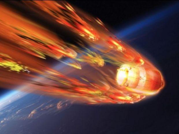 Statia spatiala scapata de sub control s-a prabusit pe Pamant! Imagini cu dezintegrarea satelitului