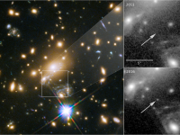 NASA cerceteaza cea mai indepartata stea observata pana acum. Se afla la peste 9 miliarde de ani-lumina