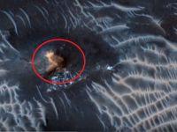 Ce spun cercetatorii despre formatiunea ciudata, ca un OZN, observata pe Marte