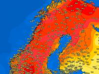În Norvegia e mai cald ca în România! Temperaturi record înregistrate aproape de Polul Nord